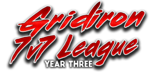 Gridiron 7v7 League Logo